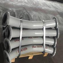 耐腐蚀陶瓷复合耐磨弯头R=3D 5D 6D 10D耐磨弯头专业生产厂