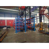 广东管材货架 伸缩悬臂式货架 国内仅此一家 12米管材存放架