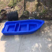 牛筋塑料船6米pe钓鱼船玻璃钢船冲锋舟橡皮艇电动船外机加厚渔船双人