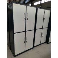 重庆铁柜 钢制 中式 办公 员工铁皮更衣柜 柜子生产厂家