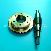 供应电机蜗轮蜗杆加工,模数0.5-3
