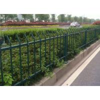 信阳供应新钢围栏、铁艺外围墙护栏 小区学校隔离栏杆