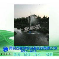 太阳能曝气机 河水治理曝气机 喷泉式曝气 古蓝厂家 常州