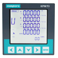 电子式电能表 KPM73多功能电力仪表 Compere/康派