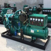 6105船用柴油发电机 75KW 带增压发电机组 全国联保 厂家直销