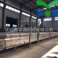 全自动生产鱼豆腐机器设备大型鱼豆腐蒸线梁源机械厂家直供