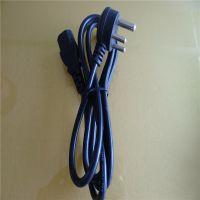 批发定制小南非品字尾电源线 标准认证优质插头电源线 普明 实力厂家
