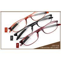 老花眼镜男女时尚韩版tr90老光镜框轻柔韧高清树脂眼镜防疲劳老人