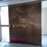 装饰背景墙不锈钢屏风玫瑰金不锈钢屏风隔断伟天盛加工定制厂家