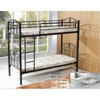顺德厂家定制上层床 生产款式新颖 稳定性强军用单人床 双层组合铁床