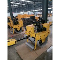 450型单钢轮压路机哪里卖 小型手扶式压路机价格