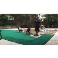 """重庆运动篮球场塑胶HYK-955塑胶颗粒""""鸿瑞铠""""牌6mm厚地板"""