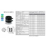 供应computar全系列工业镜头 M1614-MP2
