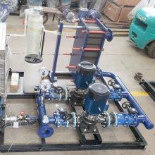 生产 优质环保节能 双纹管换热器 浮动盘管式换热器 厂家