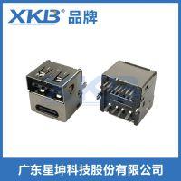厂家专业定制 USB母座 USB连接器 USB插座