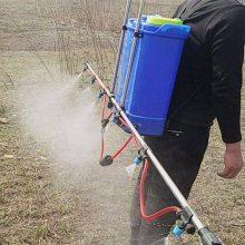 棉花除草除虫打药机 新式电动支架喷雾器 20升肩背式喷雾机 限时特价