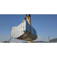 大连中核华兴使用的钢跳板3米×250×50×1.5