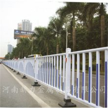 工厂一手货源 热镀锌道路护栏 公路塑钢护栏 市政交通道路隔离栏 河南新力