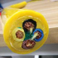 带钢丝铲运机电缆  加强件抗拉卷筒电缆
