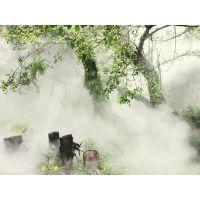 通宝小区绿化带人造雾系统