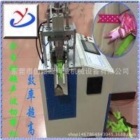 厂家供应全自动剪切机 创煜CY-0504超声波丝带 商标燕尾剪切机