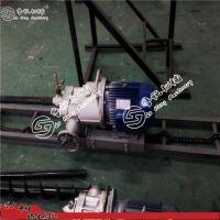 鲁恒KHYD140防爆岩石电钻 5.5KW电动探水钻机