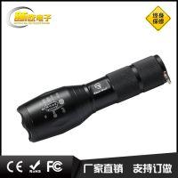 供应厂家直销t6强光手电筒干电池手电筒可充电手电筒led充电电筒