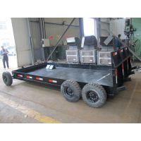 专业定做洛阳8吨压路机转场专用拖板车