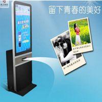 微信照片打印机公众号吸粉神器广告机手机照片打印一体机鑫飞智显 xf-gw43a