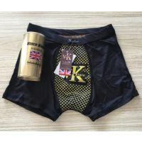 祛湿抗菌银离子卫裤 英国vk卫裤 男士磁疗内裤 地摊热销
