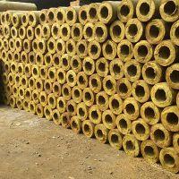 建筑保温材料岩棉管壳 憎水岩棉保温管施工