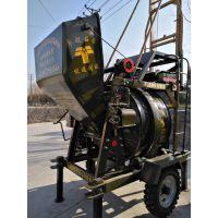 铜仁郑科爬梯式320柴油混凝土搅拌机低价批发