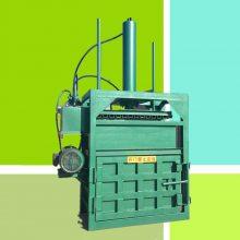 滁州市电动废纸箱打包机 启航牌立式易拉罐压块机 单缸橡胶鞋垫压包机厂家