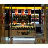 周黑鸭锁鲜装冷藏柜,徽点鸭脖柜钢化玻璃,1.8米风冷熟食柜定做价格