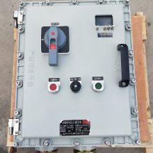 防爆四回路控制箱型号 同时控制多个电机启动器 价格