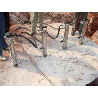 手持式液压岩石劈裂机携带方便操作简单