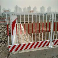 工地临时临边封闭建筑用护栏 基坑井口低碳钢丝安全防护栏供应厂家