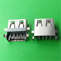 连欣科技USB连接器厂商直供USB沉板母座4.9MM品质稳定