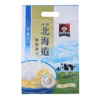 QUAKER 桂格 北海道鲜奶风味麦片(特浓鲜奶味)336g(28g12)袋