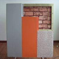 岩棉装饰一体化板 外墙外保温 A级防火 九纵厂家