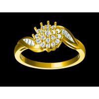 红铜镀银镶嵌翡翠戒指私人订制 女漫游带什么戒指 —复古饰品定做