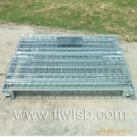折叠式仓储笼,可折叠堆垛物料笼,非标定做多款式仓储笼