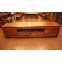 西安仿古中式电视柜、实木视听柜、红木视柜、老榆木电视柜、定做厂家