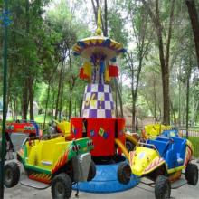 儿童游乐设备三星厂家直销狂车飞舞kcfw24人小孩子的专利产品
