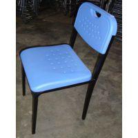 加厚学生椅培训室用椅可堆叠简约会议椅课桌椅招待椅辅导班用椅