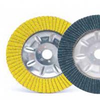 优质进口 铝盖百页轮 ABRA MINI 铝基体百叶片 平面砂布轮
