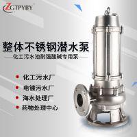 耐腐蚀全自动多型号 工业排水泵 家用水泵 农业灌溉井用潜水泵