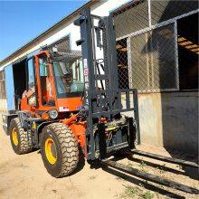 水泥厂专用四吨四驱越野叉车价格表5吨四驱越野叉车图片