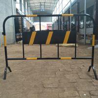 铁马护栏 珠海铁马生产厂家 黄黑铁马 城市道路隔离铁马 镀锌铁马 施工铁马护栏