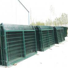 框架防护网 学校围墙网 铁路护栏